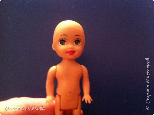 Мастер-класс Материалы и инструменты Моделирование конструирование Молд для кукольного лица Глина фото 3