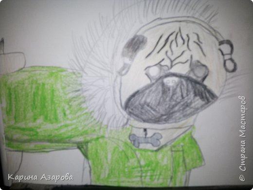 Здравствуйте! Сегодня я Вам покажу как нарисовать мопса. Начнем! фото 10