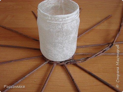 Мастер-класс Поделка изделие Плетение Фонарик из ничего Бумага газетная Проволока Трубочки бумажные фото 9