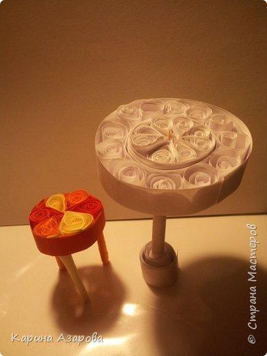 Здравствуйте! Сегодня у меня появилась идея кукольной мебели в технике КВИЛЛИНГ. Начнем! фото 1