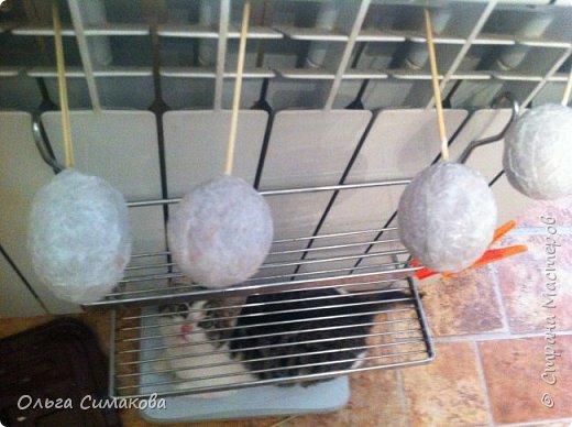 Мастер-класс Материалы и инструменты Пасха Папье-маше Заготовка для Пасхального яйца Бумага Клей фото 8