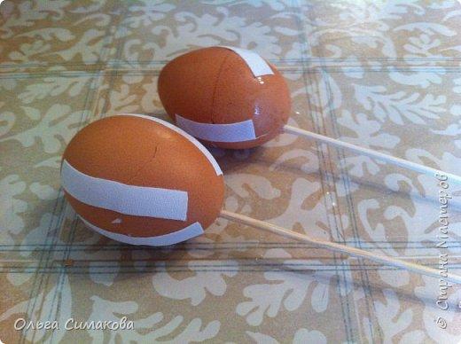 Мастер-класс Материалы и инструменты Пасха Папье-маше Заготовка для Пасхального яйца Бумага Клей фото 5