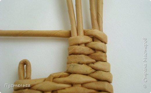 Олени для детских МК (всего 12 трубочек). Идея взята у мастеров плетения из лозы. фото 9