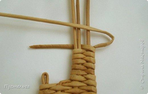 Олени для детских МК (всего 12 трубочек). Идея взята у мастеров плетения из лозы. фото 10