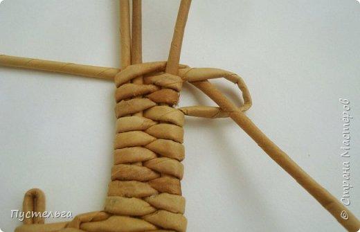 Олени для детских МК (всего 12 трубочек). Идея взята у мастеров плетения из лозы. фото 11