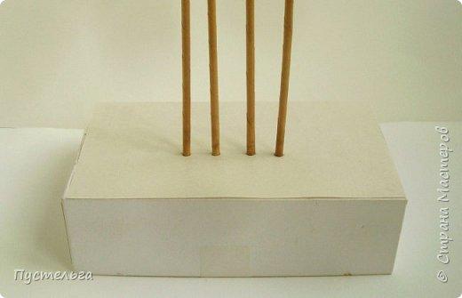 Олени для детских МК (всего 12 трубочек). Идея взята у мастеров плетения из лозы. фото 2