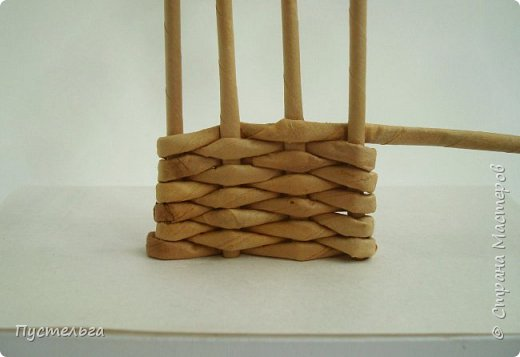 Олени для детских МК (всего 12 трубочек). Идея взята у мастеров плетения из лозы. фото 3