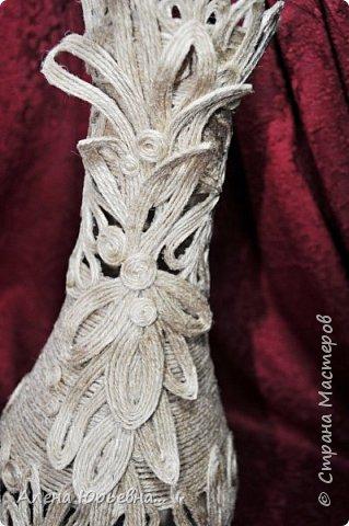 Мастер-класс Поделка изделие Моделирование конструирование Филигранная ваза МК Клей Шпагат фото 11