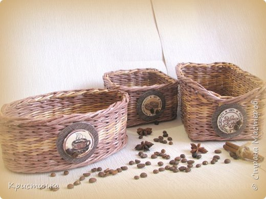 Добрый день жители и гости любимой Страны. Спешу показать вам два кофейных комплекта. Кофейную тематику в изделиях люблю нежной любовью. фото 7