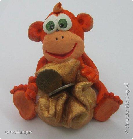 Поделки обезьяны своими руками из соленого теста 73