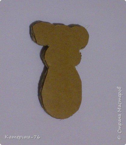 Мастер-класс Поделка изделие Новый год Моделирование конструирование Символ года из шпагата МК Бисер Картон Клей Краска Магниты Нитки Шпагат фото 11