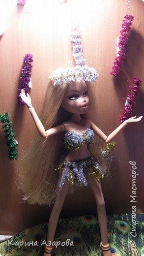 """Привет!!! Сегодня мы сдаем работу на конкурс """"Новогоднее чудо""""! И сегодня я Королева Праздник! И костюм у меня из... фото 1"""