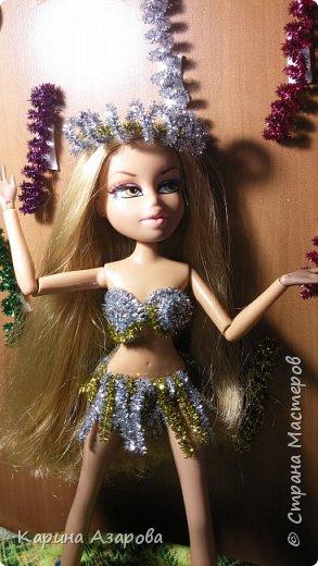 """Привет!!! Сегодня мы сдаем работу на конкурс """"Новогоднее чудо""""! И сегодня я Королева Праздник! И костюм у меня из... фото 2"""