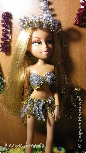 """Привет!!! Сегодня мы сдаем работу на конкурс """"Новогоднее чудо""""! И сегодня я Королева Праздник! И костюм у меня из... фото 4"""