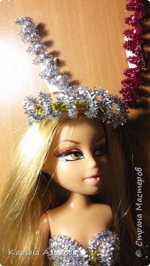 """Привет!!! Сегодня мы сдаем работу на конкурс """"Новогоднее чудо""""! И сегодня я Королева Праздник! И костюм у меня из... фото 6"""