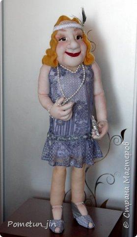 Портретная кукла в стиле гэтсби. фото 2