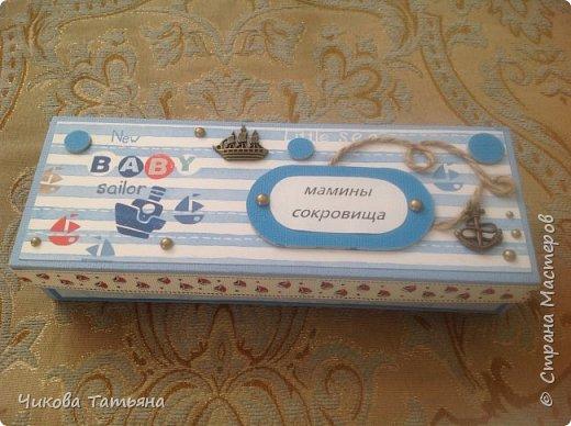 Здравствуйте, любители рукоделия! Решилась на сокровищницы. Очень понравилось! Первая морская на день рождения сынишке друзей, а вторая для души, ждёт хозяев)))) делала по мастер-классу https://stranamasterov.ru/node/699123?c=favorite. Спасибо большое автору!  фото 5