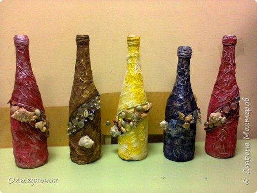 Вот такие бутылочки с драгоценностями ребята подарили своим мамам на день матери. фото 1