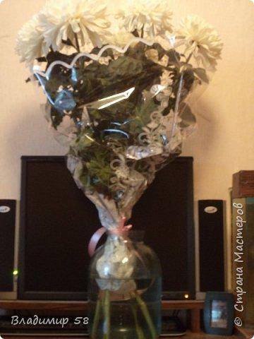 Ваза для букета цветов. фото 2