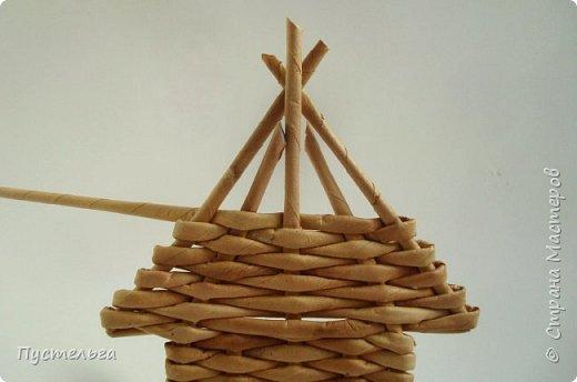 Домик для детских МК  (ёлочное украшение) фото 13