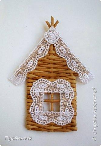 Домик для детских МК  (ёлочное украшение) фото 16