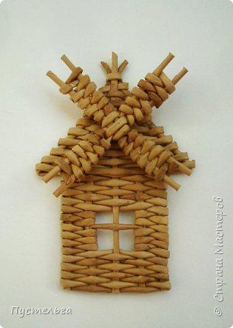 Домик для детских МК  (ёлочное украшение) фото 21