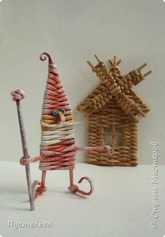 Домик для детских МК  (ёлочное украшение) фото 22