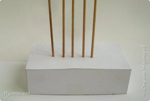 Мастер-класс Поделка изделие Плетение Домик и мельница Трубочки бумажные фото 3