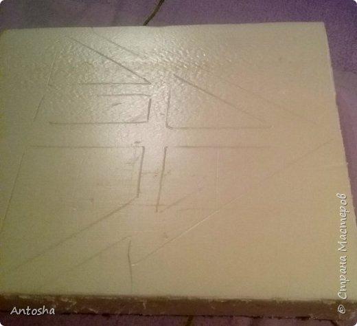 Мастер-класс Поделка изделие Новый год Рождество Моделирование конструирование Елочка в стиле shadow-box Бумага Пеноплен фото 3