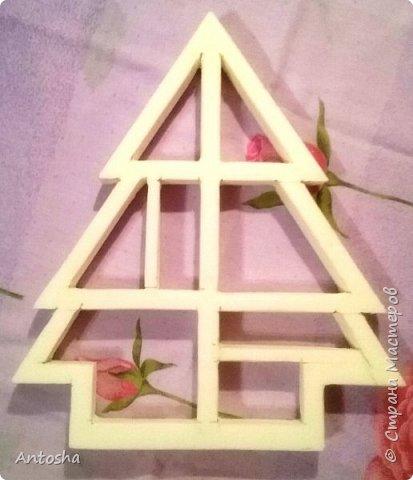 Мастер-класс Поделка изделие Новый год Рождество Моделирование конструирование Елочка в стиле shadow-box Бумага Пеноплен фото 4