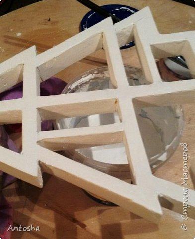 Мастер-класс Поделка изделие Новый год Рождество Моделирование конструирование Елочка в стиле shadow-box Бумага Пеноплен фото 7