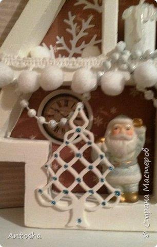 Мастер-класс Поделка изделие Новый год Рождество Моделирование конструирование Елочка в стиле shadow-box Бумага Пеноплен фото 17