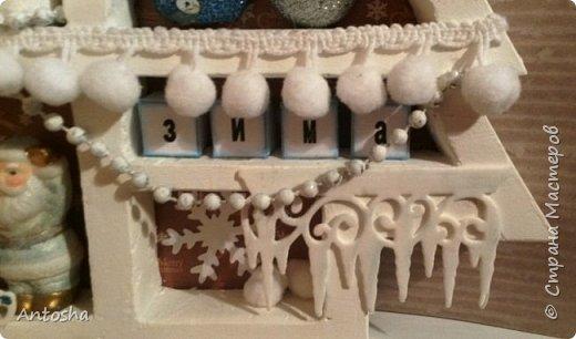 Мастер-класс Поделка изделие Новый год Рождество Моделирование конструирование Елочка в стиле shadow-box Бумага Пеноплен фото 18