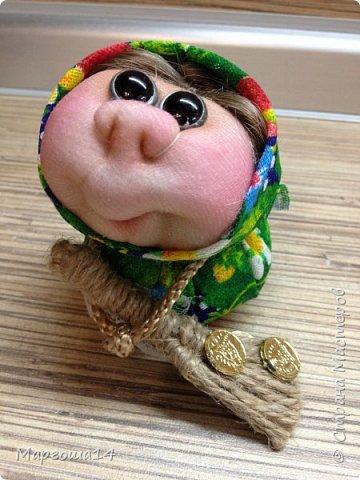"""Маленькие куколки - обереги сделаны по МК Елены Лаврентьевой """"Обережка - благополучница"""". Хороший вариант для подарочков. фото 1"""