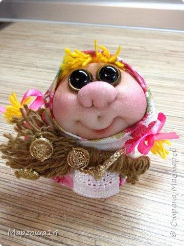 """Маленькие куколки - обереги сделаны по МК Елены Лаврентьевой """"Обережка - благополучница"""". Хороший вариант для подарочков. фото 2"""