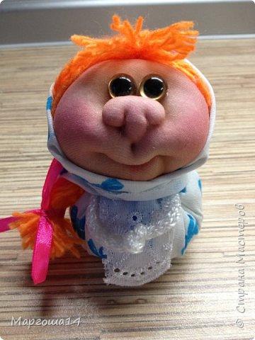"""Маленькие куколки - обереги сделаны по МК Елены Лаврентьевой """"Обережка - благополучница"""". Хороший вариант для подарочков. фото 4"""