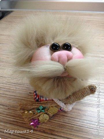 """Маленькие куколки - обереги сделаны по МК Елены Лаврентьевой """"Обережка - благополучница"""". Хороший вариант для подарочков. фото 5"""
