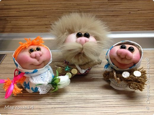 """Маленькие куколки - обереги сделаны по МК Елены Лаврентьевой """"Обережка - благополучница"""". Хороший вариант для подарочков. фото 6"""