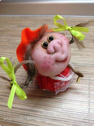 """Маленькие куколки - обереги сделаны по МК Елены Лаврентьевой """"Обережка - благополучница"""". Хороший вариант для подарочков. фото 8"""