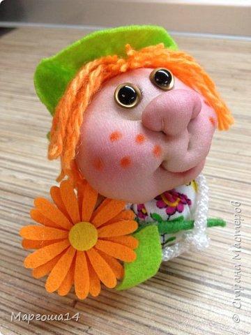 """Маленькие куколки - обереги сделаны по МК Елены Лаврентьевой """"Обережка - благополучница"""". Хороший вариант для подарочков. фото 11"""