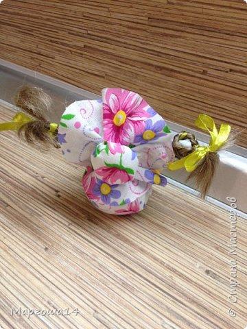 """Маленькие куколки - обереги сделаны по МК Елены Лаврентьевой """"Обережка - благополучница"""". Хороший вариант для подарочков. фото 15"""
