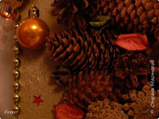 Всем новогоднего настроения и доброго времени суток! И снова небольшой МК к новой картине. Основной МК по изготовлению самой картины вы можете найти здесь: https://stranamasterov.ru/node/982422.   фото 26