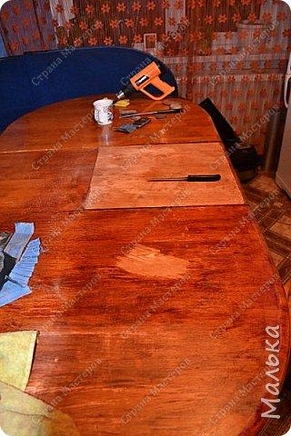 Реставрирую стол фото 3