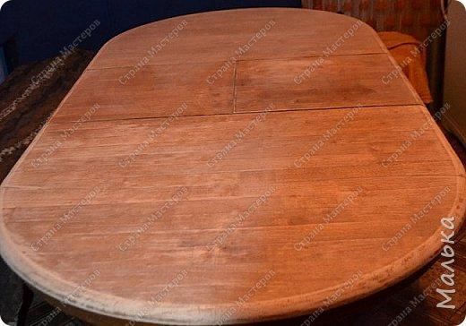 Реставрирую стол фото 4