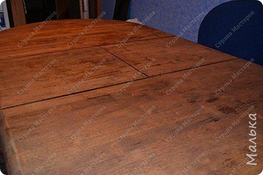 Реставрирую стол фото 7