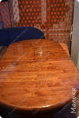 Реставрирую стол фото 1