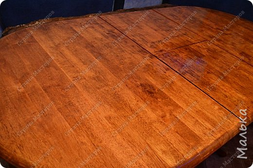 Реставрирую стол фото 9