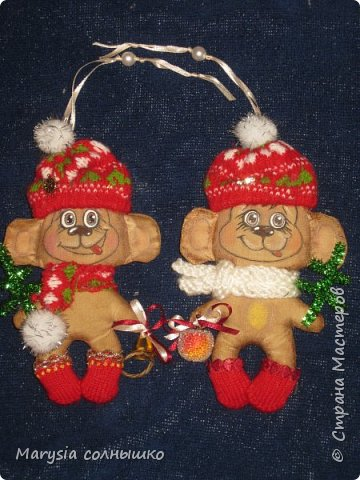 Обезьянки близняшки .Подарок близнецам. фото 2
