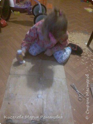 Здравствуйте, Жители СМ))) Вот такую работу мы сделали с моей дочкой (ей 2 года и 9 мес).  Мы такую серьезную работу делали в первый раз. И мой взгляд мне кажется мы справились с задачей)))  фото 16
