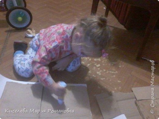 Здравствуйте, Жители СМ))) Вот такую работу мы сделали с моей дочкой (ей 2 года и 9 мес).  Мы такую серьезную работу делали в первый раз. И мой взгляд мне кажется мы справились с задачей)))  фото 17
